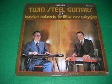 kayton roberts & little roy wiggins twin steel guitars LP 1973 stoneway STY-129