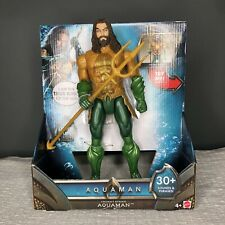DC Aquaman Movie 12-Inch Light and Sounds Action Figure with Spinning Trident
