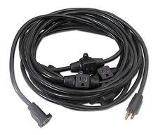 30Ft 14/3 Multi Outlet Power Cord Stringer for Backlines LED Uplights Mobile DJs