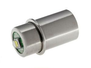 MAG-LITE 1-6 C/D-Cell Ersatz-LED | 1,5 - 9 Volt 3 Watt 330 Lumen | TorchLED-Mag