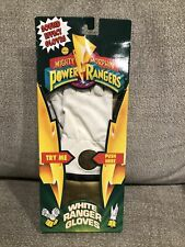Mighty Morphin Power Rangers White Ranger Gloves CIB (Sound Effects!)