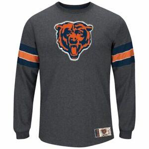 Chicago Bears Men's Spotlight Long Sleeve Shirt - Charcoal
