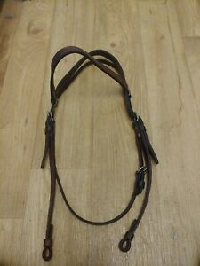 Used western bridle headstall