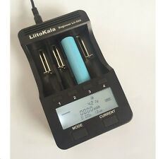 LiitoKala Lii-500 caricabatteria per batterie Li-Ioni Ni-MH Ni-Cd 18650 26650