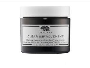 Origins Clear Improvement Charcoal Honey Mask To Purify & Nourish 2.5oz. NIB