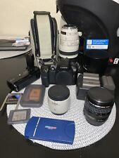 Canon Camera w/ 100-400mm/28-105mm/ EF Extender Lenses