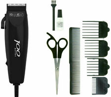 Wahl 100 Series Mens Hair Clipper Trimmer 10 Piece Set Corded Hair Cutting set