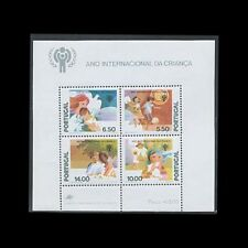 Portugal, Sc #1428a, Mnh, 1979, S/S, International Year of the Child, Iyc, A350