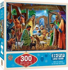 Away In A Manger Jigsaw Puzzle--Christmas Baby Jesus Master Pieces