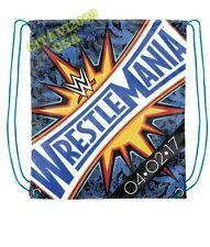 NEW! OFFICIAL WWE 2017 WRESTLEMANIA 33 DRAWSTRING BAG. BACKPACK USA SELLER