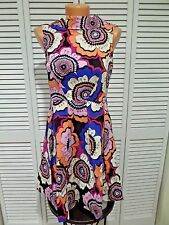 NWT Sing of Spring Women's Dress Closet London Sz 6 Fit Flare Retro Floral Bold
