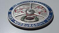 Jaguar Grill Badge nurburgring - E type F type X type XJS XF XJR XK Mk 1 II