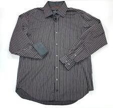 Bugatchi Uomo Men's Classic Button Up Shirt-XL Flip Cuff