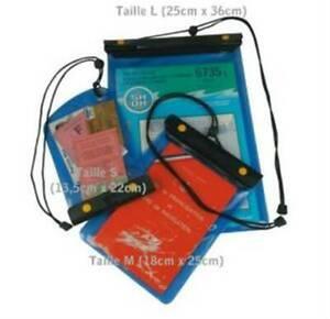 Brieftasche Wasserdicht Dokumentenmappe 25x36cm - O' Wave Größe L Verstärkter