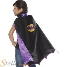 filles Batgirl Cape enfant Halloween Super Héros Batman costume déguisement