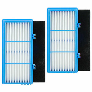 2 Pack HEPA Filters, Carbon Booster Sheet HAPF30AT for Holmes AER1 Air Purifiers