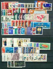 DDR Jahrgang 1966 , gestempelt , Auswahl aus Michel Nr. 1154 - 1244