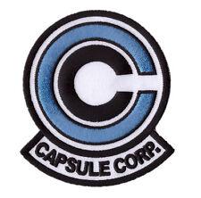 Blue  Dragon Ball Z Capsule Corp Goku Anime Japanese Iron on patch