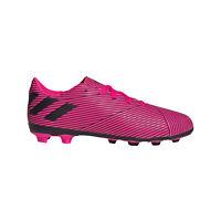 adidas Nemeziz 19.4 FxG Firm Ground Kids Football Soccer Boot Pink/Black