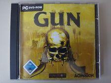 Gun PC DVD ROM versión original del salvaje oeste Shooter casi post
