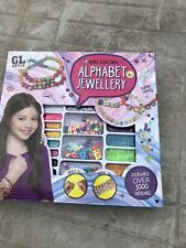 NEW - GL Style - Make your own Alphabet Jewellery Set - Arts & Crafts