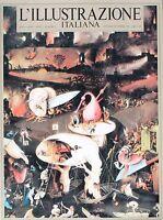 L'ILLUSTRAZIONE ITALIANA  Anno I  N.1  Ottobre-Novembre 1981