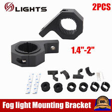 """Hot sale 2×1.4"""" Mounting Braket LED Light Clamps For Roof Roll Cage Offroad SUV"""