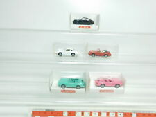 bk13-0,5 #6x WIKING H0/1:87 AUTOVETTURA PORSCHE: 164 Carrera + 165 Cabriolet