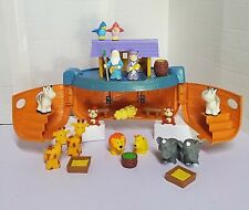 Vintage Noah's Ark Biblical Toy Figures Lot