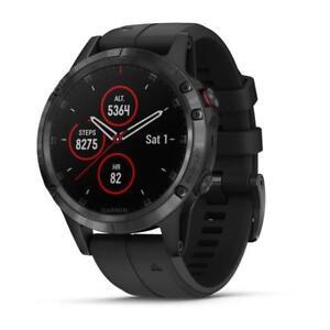 Garmin FENIX 5 PLUS Smartwatch Watch Music Sapphire 47mm 010-01988-01