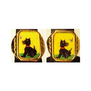 Rare Vari Vue Scottie Dog / Butterfly Gumball Prize Flicker Ring