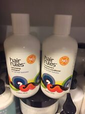 Hair Rules Set Volumizing Shampoo And Nourishment Leave In Conditioner 8 OZ Each