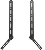 VIVO Universal Sound Bar Bracket Speaker Mount Above or Below Wall Mounted TV |