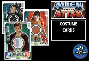 Topps Dr Doctor Who Alien Attax 50th Anniversary COSTUME Cards Master Unit Ood
