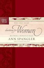 The One Year Devotions for Women: Becoming a Woman at Peace, Spangler, Ann, Good