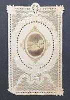 CANIVET Jésus Image Pieuse HOLY CARD 19thC Santino 1