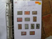 SELANGOR MINT AND USED  STAMPS SG 49 TO 55 PLUS PART SET (TOTAL 24 STAMPS)
