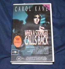 WHEN A STRANGER CALLS BACK VHS PAL CAROL KANE CIC