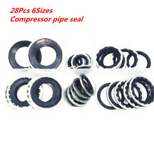 28 x6sizes Alloy Auto Air Conditioning Compressor Gaskets Repair seal R134a