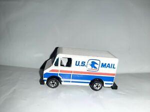 Vtg Hot Wheels 1977 Letter Getter USPS Mail Truck Blackwall Hong Kong