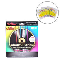 A107C Colorful Classical Guitar Strings Nylon Coated Copper Alloy Wound Strings-
