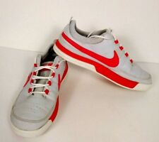 Nike Vt jr 652731 grey and white w/ red swoosh youth shoes sz 6