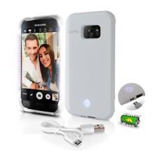 Lite-Me Selfie Lighted Smart Case, Built-in Power Bank & LED Lights (SL301S7WT)