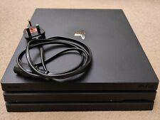 Sony Playstation 4 Pro Consola De Juegos 1TB con Dual Shock Controlador 4-Negro
