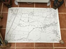 """LOCAL MAP OF SHEERING, ESSEX - 40.5"""" x 28"""""""