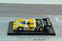 SPARK Porsche 956 #7 Le Mans Winner 1984 Racing Car 1/43 Scale