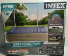 """18"""" Dura-beam Standard Raised Pillow Rest Air Mattress - Queen 60"""" x 80"""" x 18"""""""