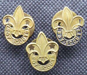 Three Boy Scouts Metal Badges - GG43