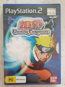 Naruto Uzumaki Chronicles PS2 Game USED