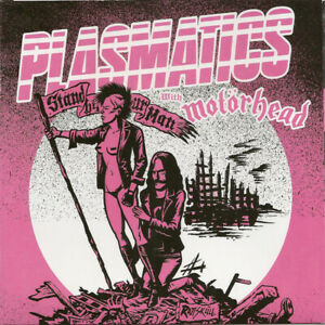 """Plasmatics With Motörhead - Stand By Your Man 7"""" (red vinyl)"""